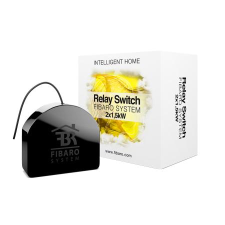 Fibaro Relay Switch 2x1,5kW FGS-222